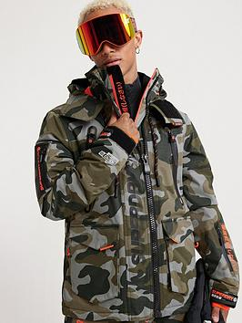 Superdry Superdry Ultimate Snow Rescue Jacket - Green Picture