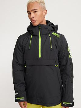 Superdry Superdry Sd Mountain Overhead Jacket - Black Picture