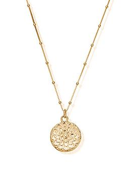 chlobo-sterling-silver-gold-plated-moon-flower-necklace