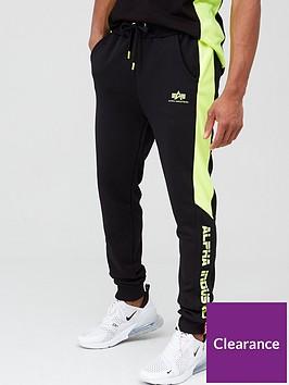 alpha-industries-alpha-industries-contrast-stripe-neon-insert-joggers