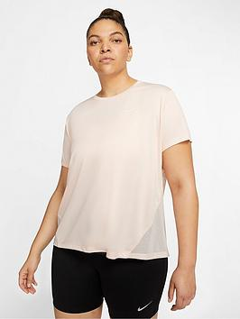 Nike Nike Running Miler T-Shirt  (Curve) - Washed Coral Picture