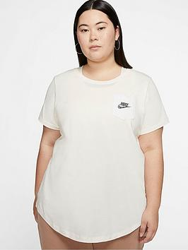 Nike Nike Nsw Icon Clash T-Shirt (Curve) - Ivory Picture
