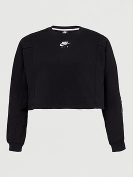 Nike Nike Curve Nsw Air Sweat - Black Picture