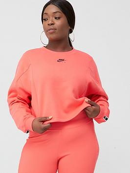 Nike Nike Nsw Air Sweatshirt (Curve) - Ember Picture