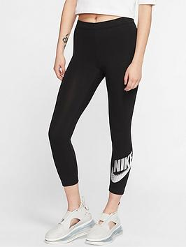 Nike Nike Nsw Club Futura Leggings - Black Picture