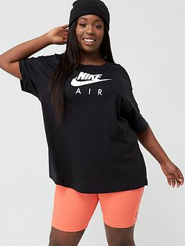 Nike Nike Nsw Air T-Shirt (Curve) - Black Picture