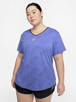 Nike Nike Air Running Miler T-Shirt (Curve) - Sapphire Picture