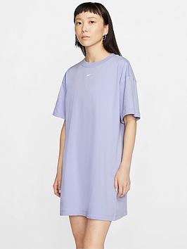 Nike Nike Nsw Essentials T-Shirt  Dress - Thistle Picture