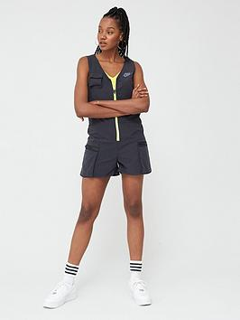 Nike Nike Nsw Icon Clash Playsuit - Black Picture