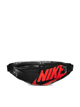 Nike Nike Heritage Large Logo Waist Bag - Black Picture