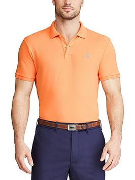 Polo Ralph Lauren Golf Stretch Mesh Polo Shirt - Peach