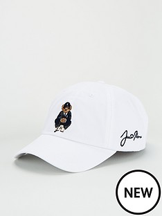 polo-ralph-lauren-golf-bear-cap-white