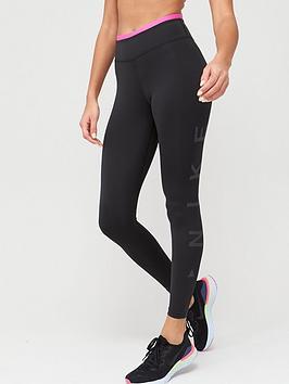 Nike Nike The One Icon Clash Leggings - Black Picture