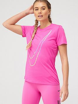 Nike Training Icon Clash Dry T-Shirt - Pink