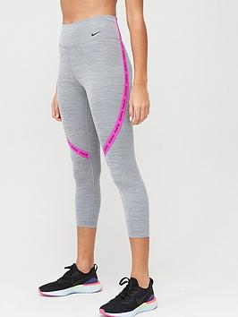 Nike Nike The One Crop Legging - Grey Picture