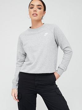 Nike Nike Nsw Essentials Sweatshirt - Dark Grey Heather Picture