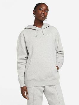 Nike Nike Nsw Essential Trend Hoodie - Dark Grey Heather Picture