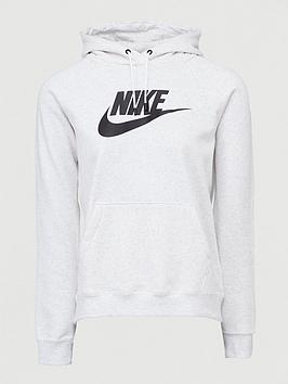 Nike Nike Nsw Essential Pullover Hoodie - Birch Heather Picture