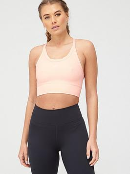 Nike Nike Medium Support Air Swoosh Padded Sports Bra - Washed Coral Picture