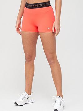 Nike Nike Training Pro 3 Inch Short - Crimson Picture