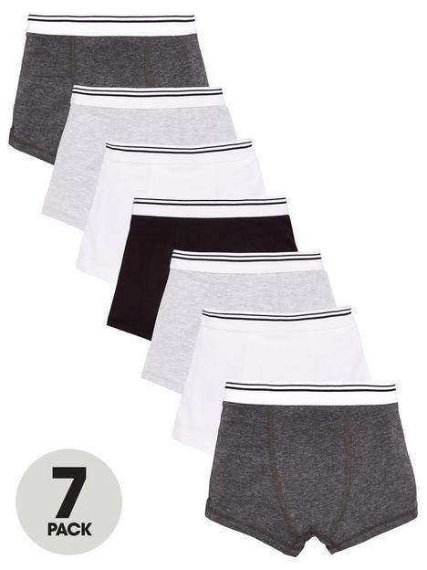 v-by-very-boys-7-pack-trunks-grey
