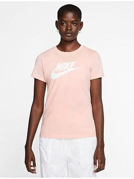 Nike Nike Nsw Essential Icon Futura T-Shirt  - Washed Coral Picture