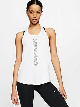 Nike Nike Pro Training Elastika Tank Top  - White Picture
