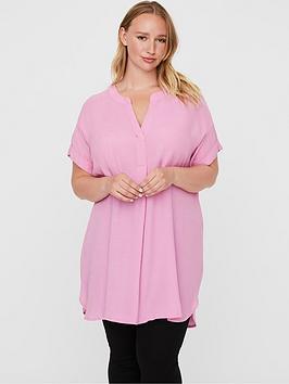 junarose-lula-short-sleeved-tunic-pink