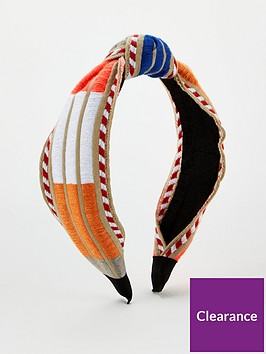v-by-very-aztec-knot-hair-band-multi