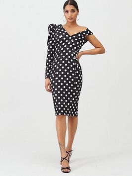 lavish-alice-statement-shoulder-midi-dress-black-spot