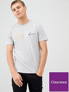river-island-grey-prolific-embroidered-slim-fit-t-shirt
