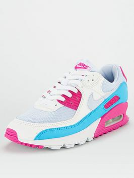 Nike Nike Air Max 90 - Grey/Pink Picture