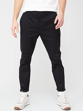 River Island River Island Skinny Chino Trousers - Black Picture