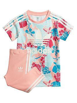 adidas Originals Adidas Originals Infant Tee And Legging Set - Pink Picture