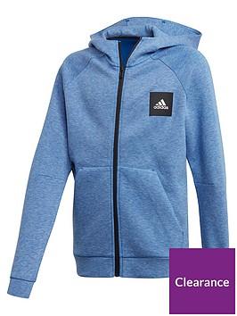 adidas-junior-boys-athletics-must-haves-full-zip-hoodie-blue