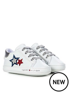 tommy-hilfiger-baby-girls-glitter-flag-lace-up-trainer