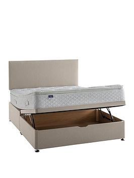 Silentnight Silentnight Miracoil Tuscany Geltex Pillowtop Lift Up Storage  ... Picture