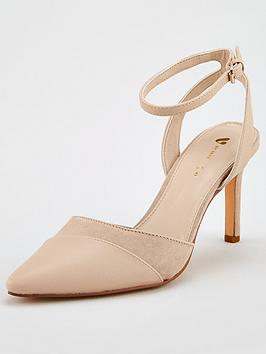 V by Very V By Very Cava Two Part Strappy Court - Nude Picture