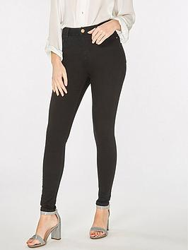 Dorothy Perkins Dorothy Perkins Shape And Lift Skinny Jeans - Black Picture