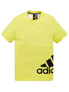 adidas-youth-badge-of-sport-short-sleeve-t-shirt-yellow