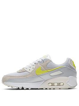 Nike Nike Air Max 90 - White/Yellow Picture