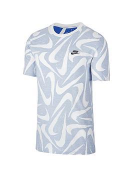 nike-sportswear-aop-short-sleeve-t-shirt-blue