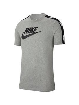 Nike Nike Hybrid Short Sleeve T-Shirt - Dark Grey Heather Picture