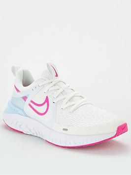Nike Nike Legend React 2 - White/Pink Picture