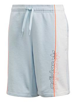 adidas-originals-childrensnbspshorts-light-blue