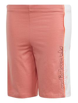 adidas-originals-childrensnbspcycling-shorts-coral