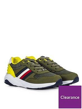 tommy-hilfiger-boys-rubber-lace-up-trainers-khaki