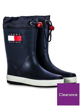 tommy-hilfiger-unisex-flag-wellington-boots-navy