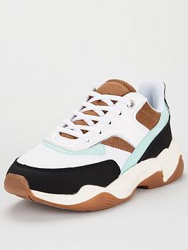 V by Very V By Very Adal Chunky Trainer - Multi Picture