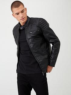 river-island-black-faux-leather-racer-jacket